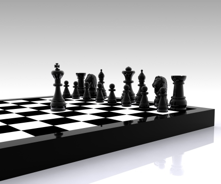 3D Chess - King photo