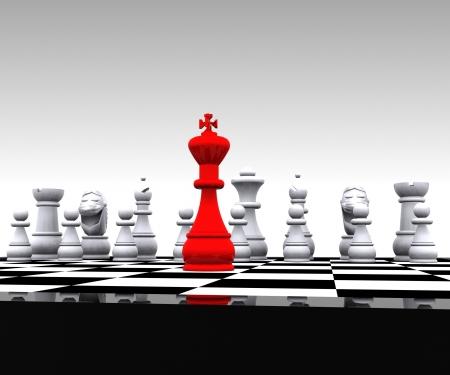 ajedrez: 3D Ajedrez - El rey