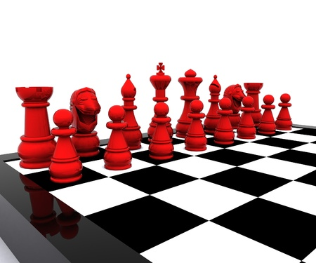 competitor: Chess 3d - Red