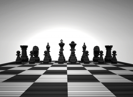 Chess - 3D photo