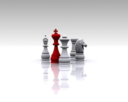 ajedrez: Ajedrez - 3D