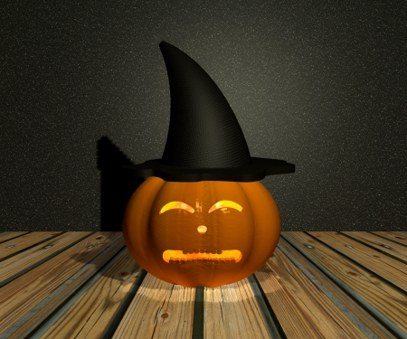 Halloween Pumpkin - 3D Stock Photo - 15148599