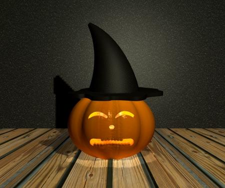 Halloween Pumpkin - 3D Stock Photo - 15148599