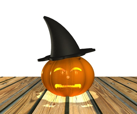 Halloween Pumpkin - 3D Stock Photo - 15148595