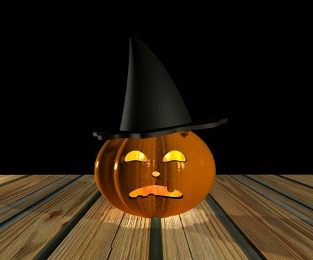 Halloween Pumpkin - 3D Stock Photo - 15148594
