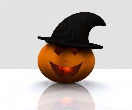 Happy halloween pumpkin Stock Photo - 15172180
