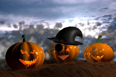 Halloween - 3D photo
