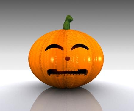 Halloween Pumpkin - 3D Stock Photo - 15334367