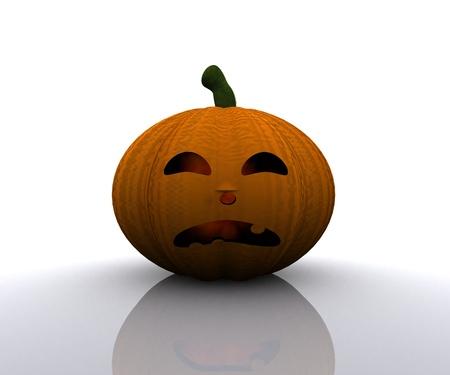 Halloween Pumpkin - 3D Stock Photo - 15334364
