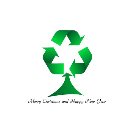A Merry Christmas     clean Stock Vector - 15649840