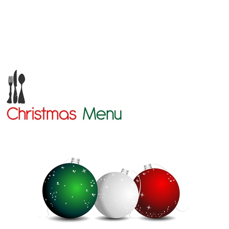metal ball: Christmas Menu