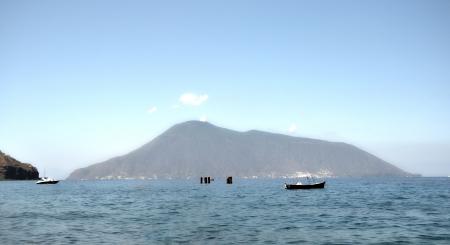 alicudi: sea view