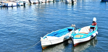 filicudi: Boats, Lipari