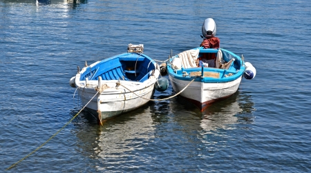 Boats, Lipari photo