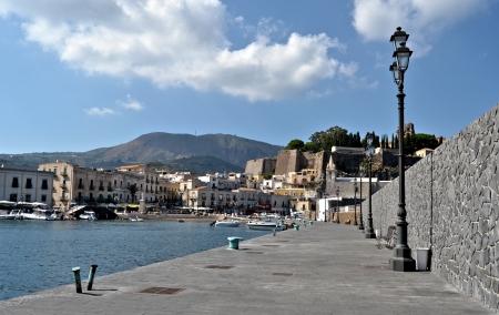 lipari: Square of Marina Corta - Lipari