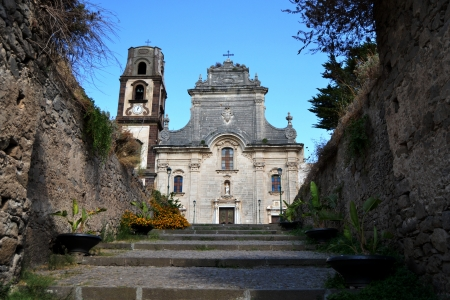 Cathedral of St  Bartholomew - Lipari, Sicily photo