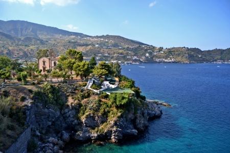 filicudi: Lipari Island, Sicily Stock Photo