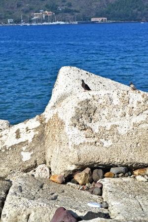 Tyrrhenian Sea - Sicily Stock Photo