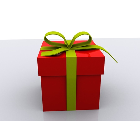 Gift boxes - 3D Stock Photo - 16035846