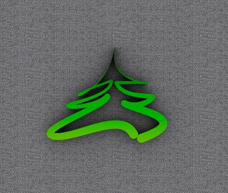 Christmas tree in metal Stock Photo - 16105836