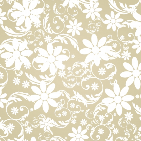 Elegant Flower Decoration  Vector