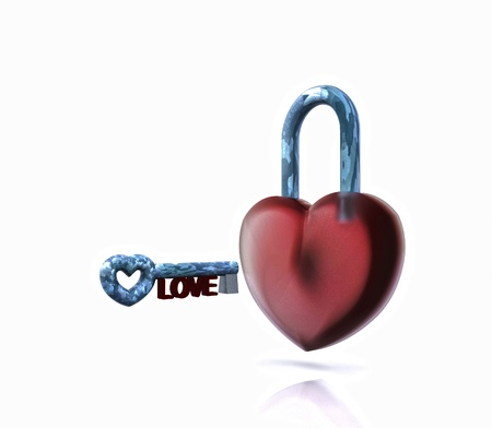 The key of the Heart - 3D photo