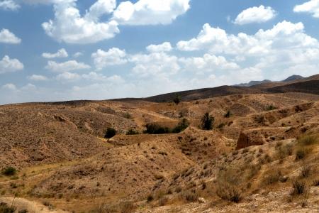 Panorama of the desert village of Matmata - Tunisia, Africa Stock Photo - 17361362