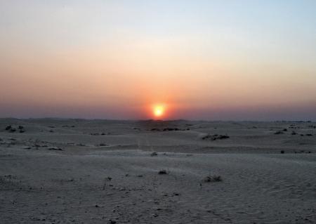 Sandy desert of the Sahara - Tunisia, Africa Stock Photo - 17385006