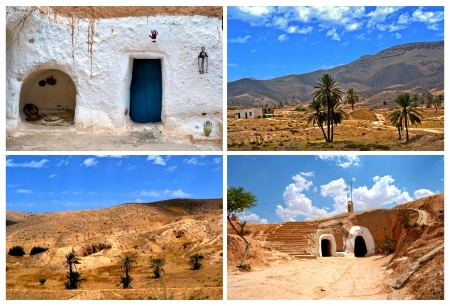 Village of Matmata - Tunisia, Africa photo