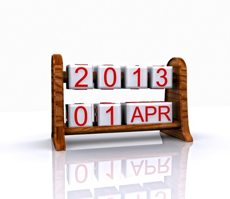 recurrence: Date - April 1, Easter, 3D