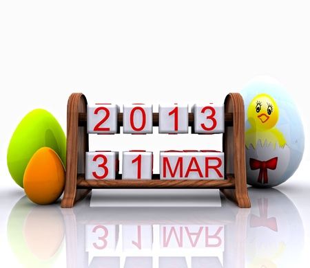 recurrence: Date - March 31, Easter
