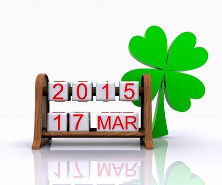 St  Patrick s Day - 3D Stock Photo - 18569209