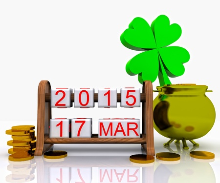 St  Patrick s Day - 3D Stock Photo - 18520174