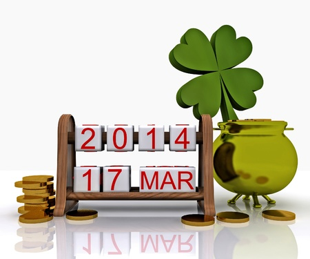 St  Patrick s Day - 3D Stock Photo - 18520185
