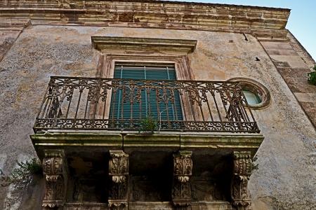 palazzolo acreide: Balcony Sicilian - Palazzolo Acreide, Syracuse, Sicily