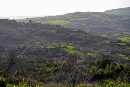 palazzolo: Landscape, Palazzolo Acreide - Province of Syracuse, Sicily