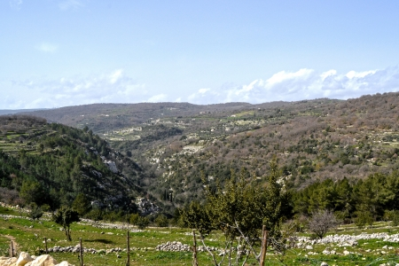 palazzolo acreide: Landscape, Palazzolo Acreide - Province of Syracuse, Sicil