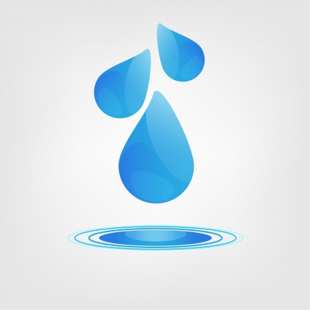 Background with water drops Stock Photo - 18941944