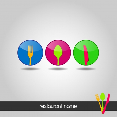 Logo - Menu for dining Stock Vector - 18988006