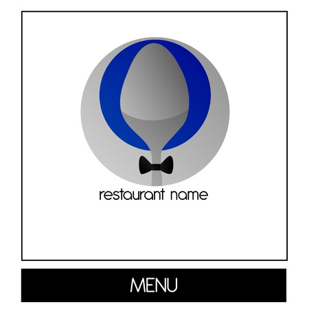 Logo - Menu for dining Vector
