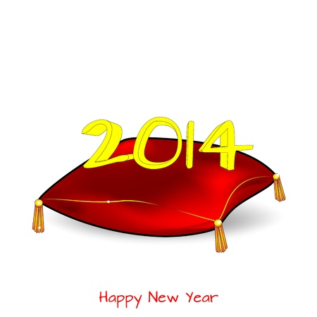 Abstract - New Year, 2014 Stock Vector - 19490092