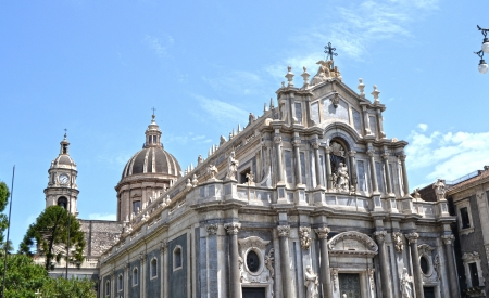 Catania Cathedral Stock Photo - 20224698