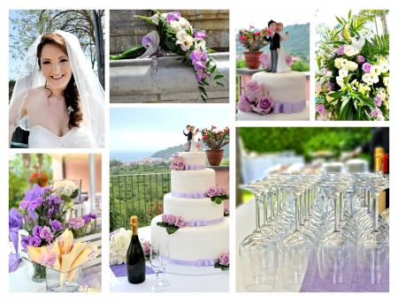 Small details of a Romantic Wedding Banco de Imagens