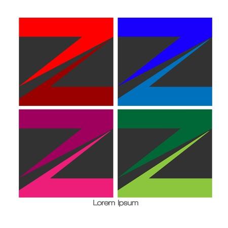 Logo abstract initial  Z Stock Vector - 21084378