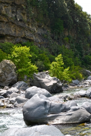 Alcantara Gorges photo