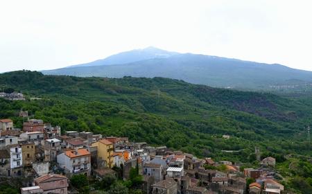 volcano slope: Etna