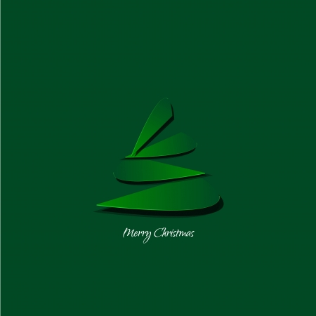 Abstract design - Stylized christmas tree  Vector