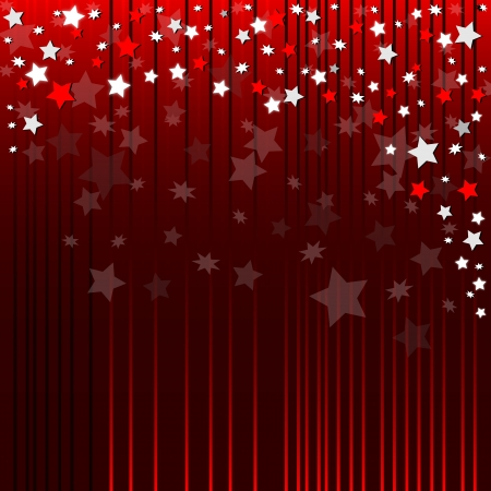 Red abstrait avec des étoiles brillantes Banque d'images - 22096507