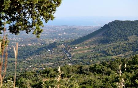 Mountain landscape of Mount Etna - Catania, Sicily photo