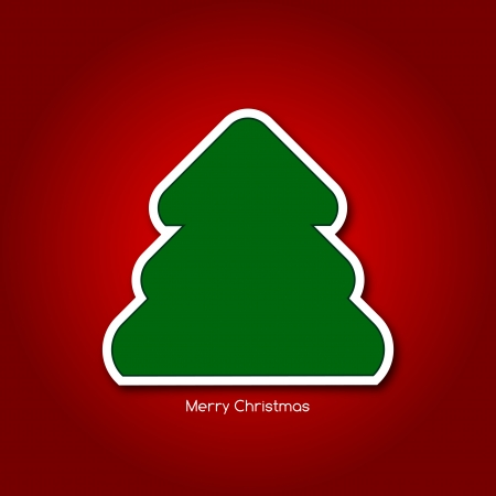 Graphic design - Christmas tree Vector